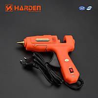 Профессиональный клеевой пистолет 60-100W для стержней 10,8-11,5 мм Harden Tools 660371