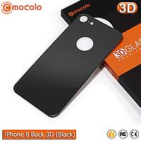 Защитное стекло на заднюю панель Mocolo iPhone 8 (Black) 3D