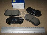 Колодка тормозной HYUNDAI I10 (Производство SANGSIN) SP1189