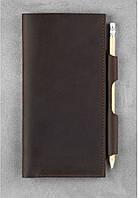 Кожаный тревел-кейс 3.0 Орех. Ручная работа