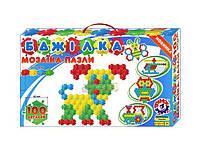 Детская мозаика коврик Пчелка 100 эл. (1035)