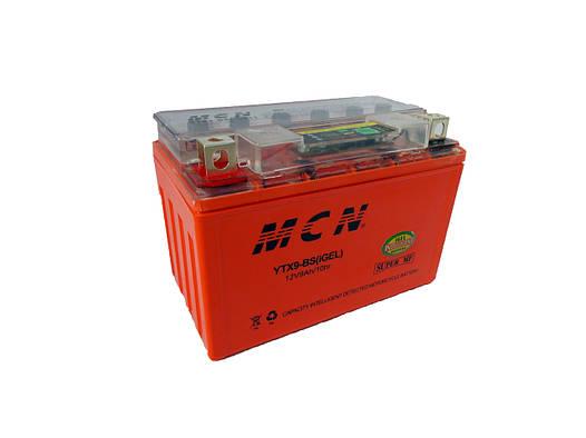 Гелиевый аккумулятор на 12V/9Ah (gel) необслуживаемый