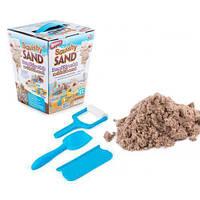 Кинетический песок (0,3 кг), Набор для детей (песок +3инструмента)
