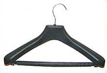 Тремпеля пластикові з металевим гачком 48-50 розмір, №07 з поперечиною