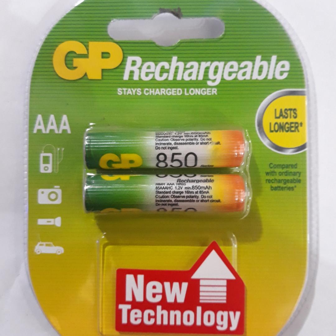 Аккамуляторные батарейки GP AAA 850