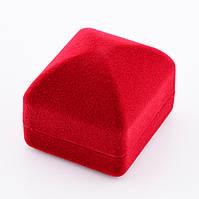 Футляр для кольца-серег 1006, размер 53*42 мм