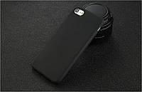 Чехлы для iPhone 7 8 Uslion Силиконовые матовые Черный