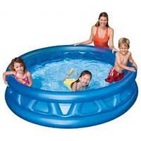 Детский надувной бассейн Intex 58431 конус. Летающая тарелка. Отличное качество. Доступная цена. Код: КГ2823