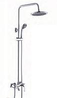 Душевая система GLLR-0001 Lazer GLOBUS Lux с верхним душем