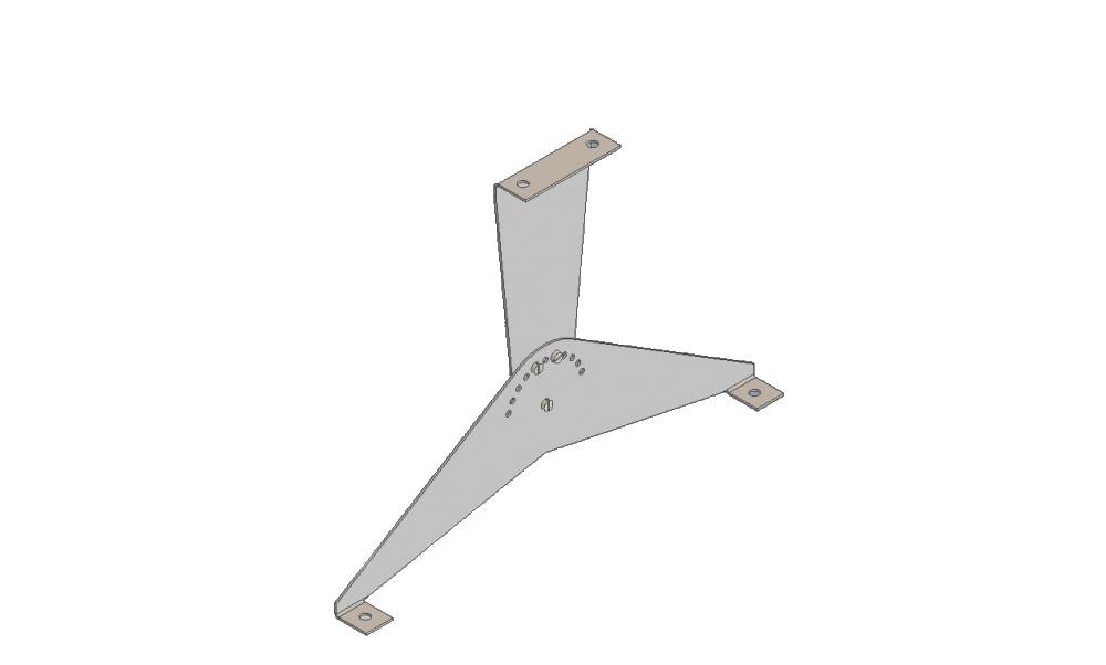 Кронштейн настенный/потолочный поворотный ТеплоV П3000/П4000