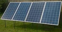 Солнечная электростанция для пасеки 440Вт 12Вольт