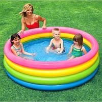 Лучший детский надувной бассейн Intex 56441 168-41 см. Яркий дизайн. Отличное качество. Доступно. Код: КГ2824
