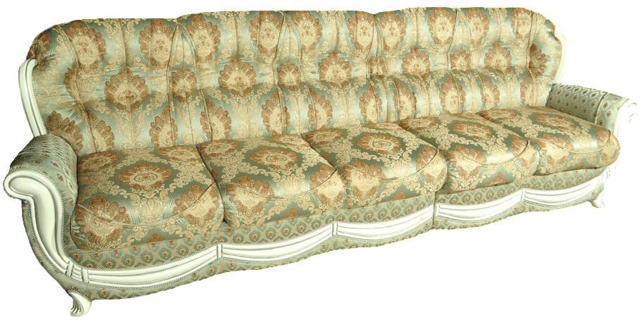 """П'ятимісний шкіряний диван """"Марина"""" (300 см)"""