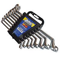 (48030)Набор ключей накидных CRV 6 шт. матовые, пластик уп. (СТАЛЬ)Набiр ключiв накидних CRV 6 шт