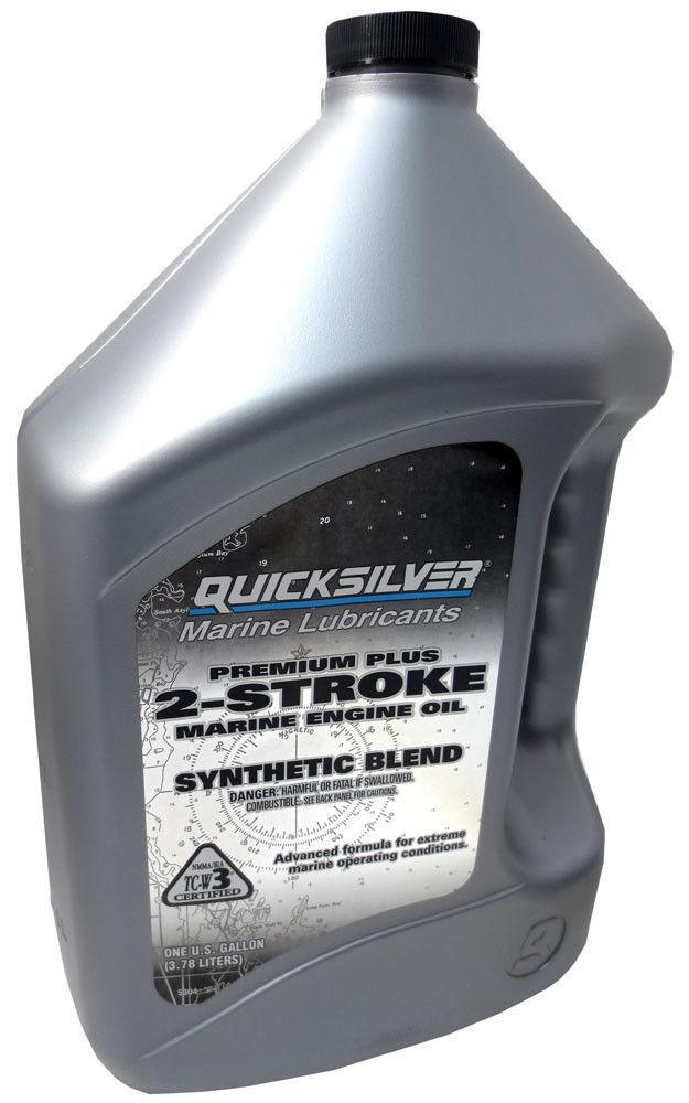 Моторное масло Quicksilver TC-W3 Premium Plus (4л)