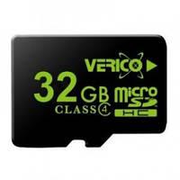 Карта памяти Verico MicroSDHC 32GB Class 4 (card only)