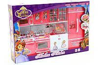 Кухня детская для кукол «Принцесса София» (свет, звук) QF26211SO