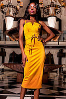 Шикарне плаття жіноче замшеве в 8ми кольорах JD Бюстьє