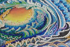 """Набор для вышивки бисером на холсте """"Песнь моря"""", фото 2"""