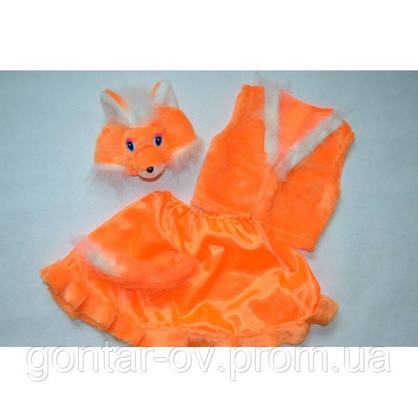 Новогодний костюм лисички.