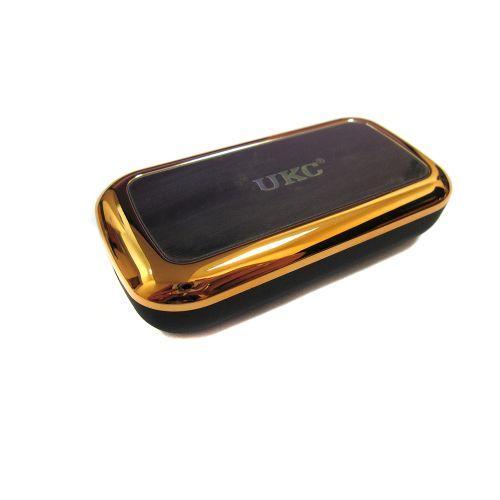 Портативная зарядка Power Bank MJ-02 8000 mAh Gold