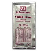 Калибровочный раствор 12880 µS/cm (мкСм) для кондуктометров (EC метр) MILWAUKEE 20мл