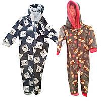 Детский махровый костюм для дома и сна