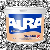 Фасадная структурная краска  AURA Dekor Struktur, 10л