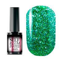 Гель-лак Naomi Self Illuminated Collection (6 мл) №3 зеленый