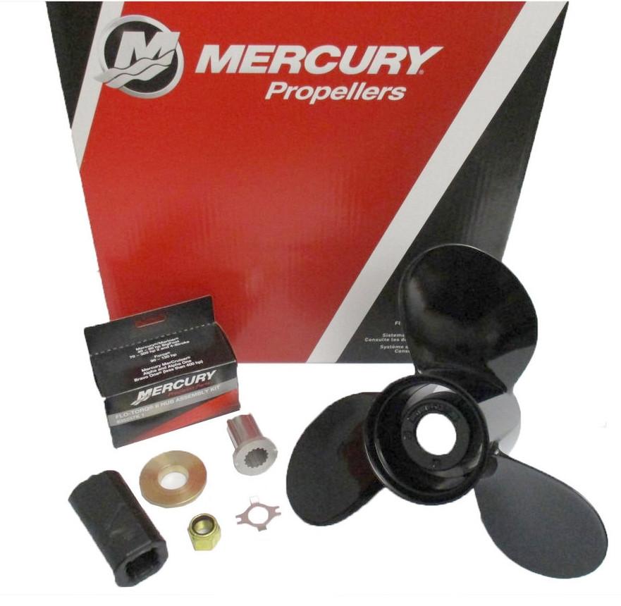 Винт гребной  Mercury 10-5/8x12 (25-70 л.с.)