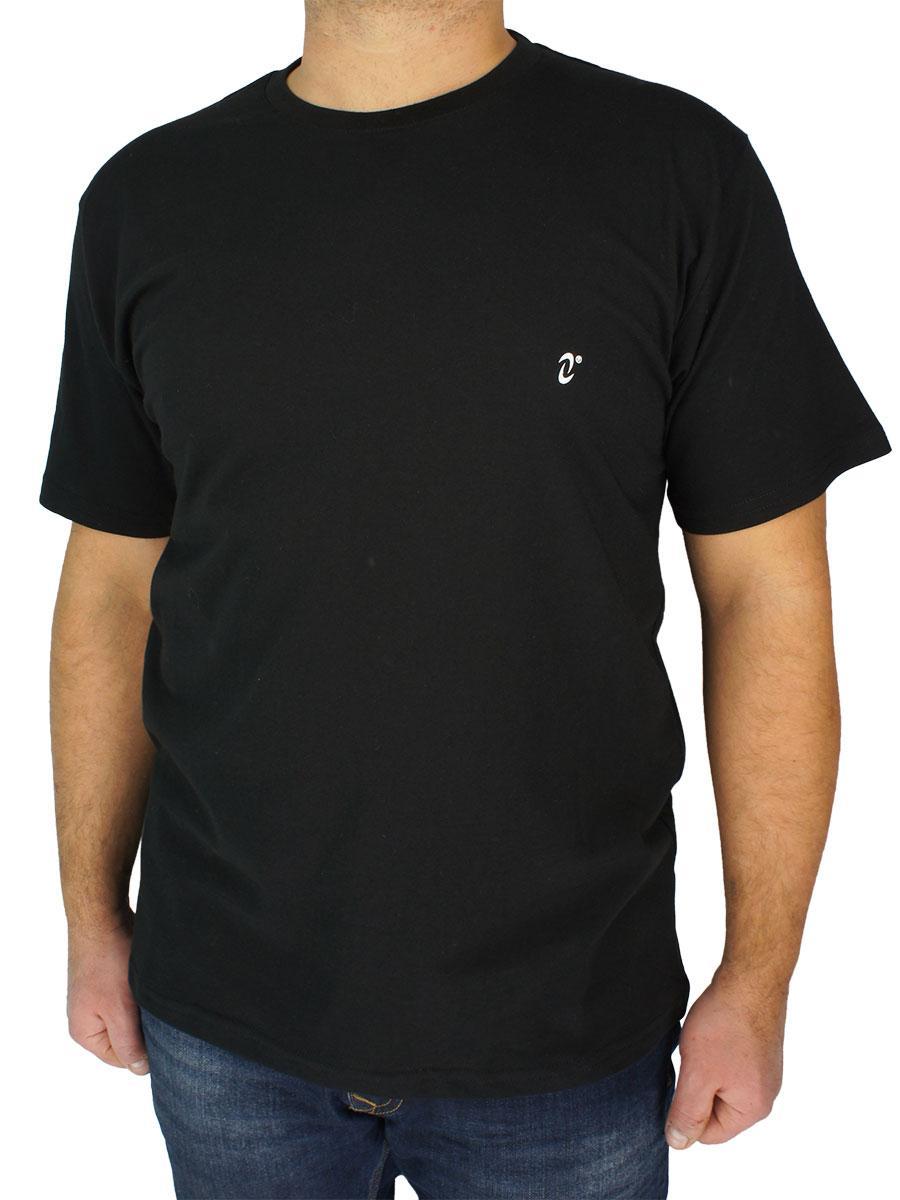 Мужская футболка Neti MSY-001 в классическом черном цвете