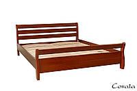 Кровать Соната 160х200 деревянная , фото 1