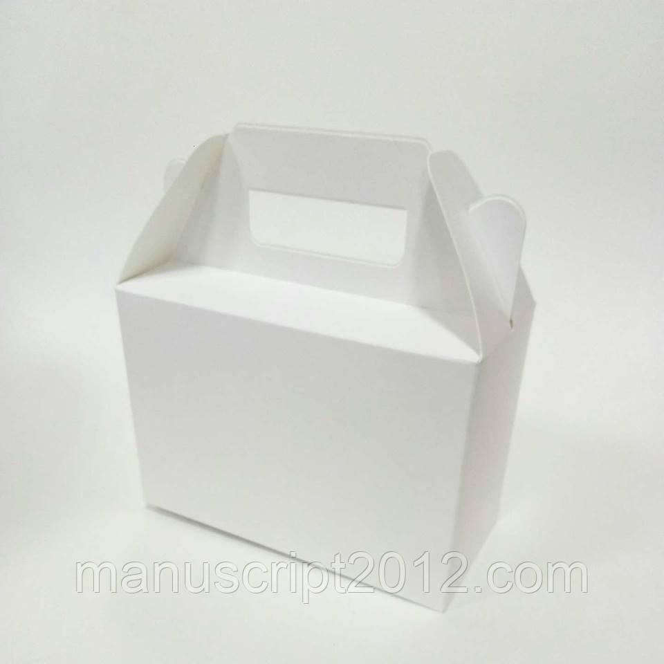 Коробка с ручками  190х130х90 мм.
