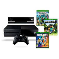 Xbox One 1TB + Kinect + Kinect Sports Rivals, Just Dane 2017, Minecraft + Xbox Live Gold