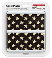 Декоративные крышки NEW 3DS COVER PLATE GOLD STARS
