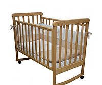 Ліжечко для новонароджених Соня ЛД12 бук