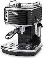 Рожковая кофеварка Delonghi Scultura ECZ 351 BK