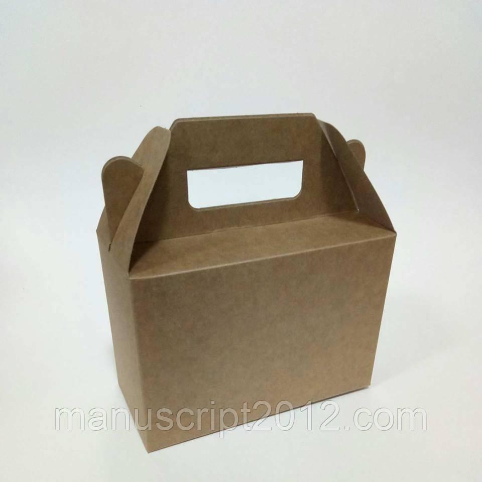 Коробка 190х130х90 крафт