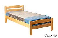 Кровать Сафира 90х200 деревянная , фото 1