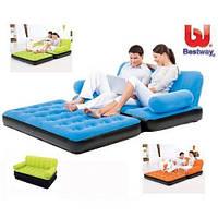Надувной диван трансформер Bestway 67356 с насосом. Отличное качество. Доступная цена. Дешево. Код: КГ2827