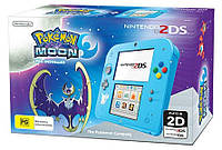 NINTENDO 2DS BLUE + POKEMON MOON