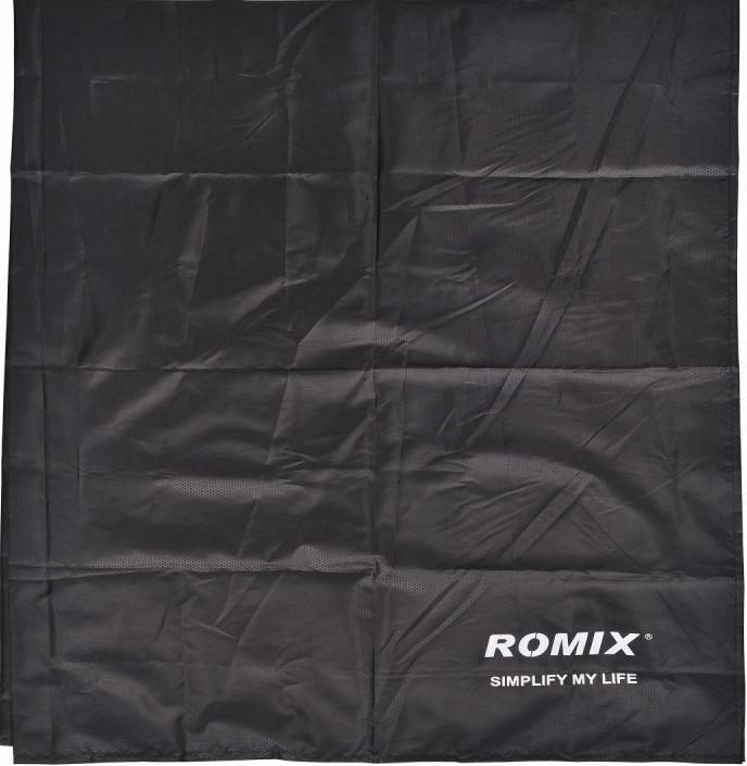Складное портативное влагостойкое покрывало 110*160 ROMIX RH32-М B, черный