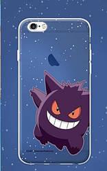 """Силиконовый чехол """"Funny Pokemons"""" для Apple iPhone 5/5S/SE (16247)"""