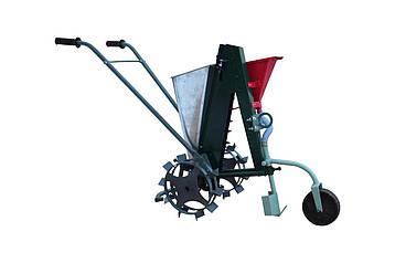 Сажалка для чеснока ручная с опорным колесом Ярило