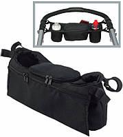 Удобная сумка-багажник для коляски 3 л. Traum 7009-03, черный