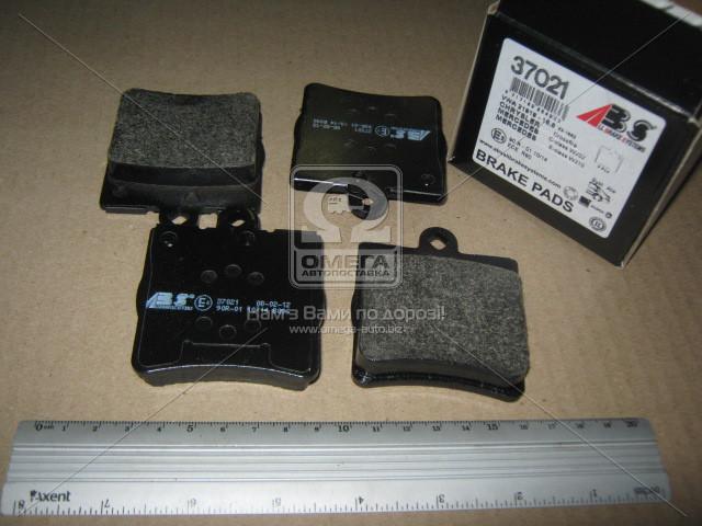 Колодка тормозная MB C/E/SLK/CLK KLASSE задн. (производство ABS) (арт. 37021), ACHZX
