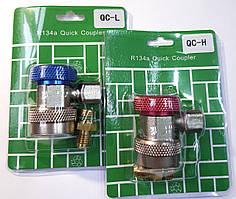 Заправна муфта комплект QC-L+QC-H швидкознімна