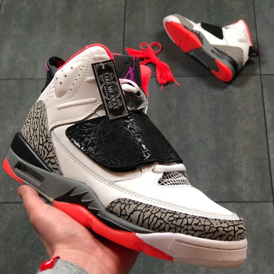 the latest 78177 581a7 Кроссовки в стиле Nike Air Jordan Son of Mars Low Hot Lava мужские