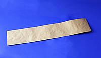 Бумажный пакет под багет бурый 570х100  (100шт)