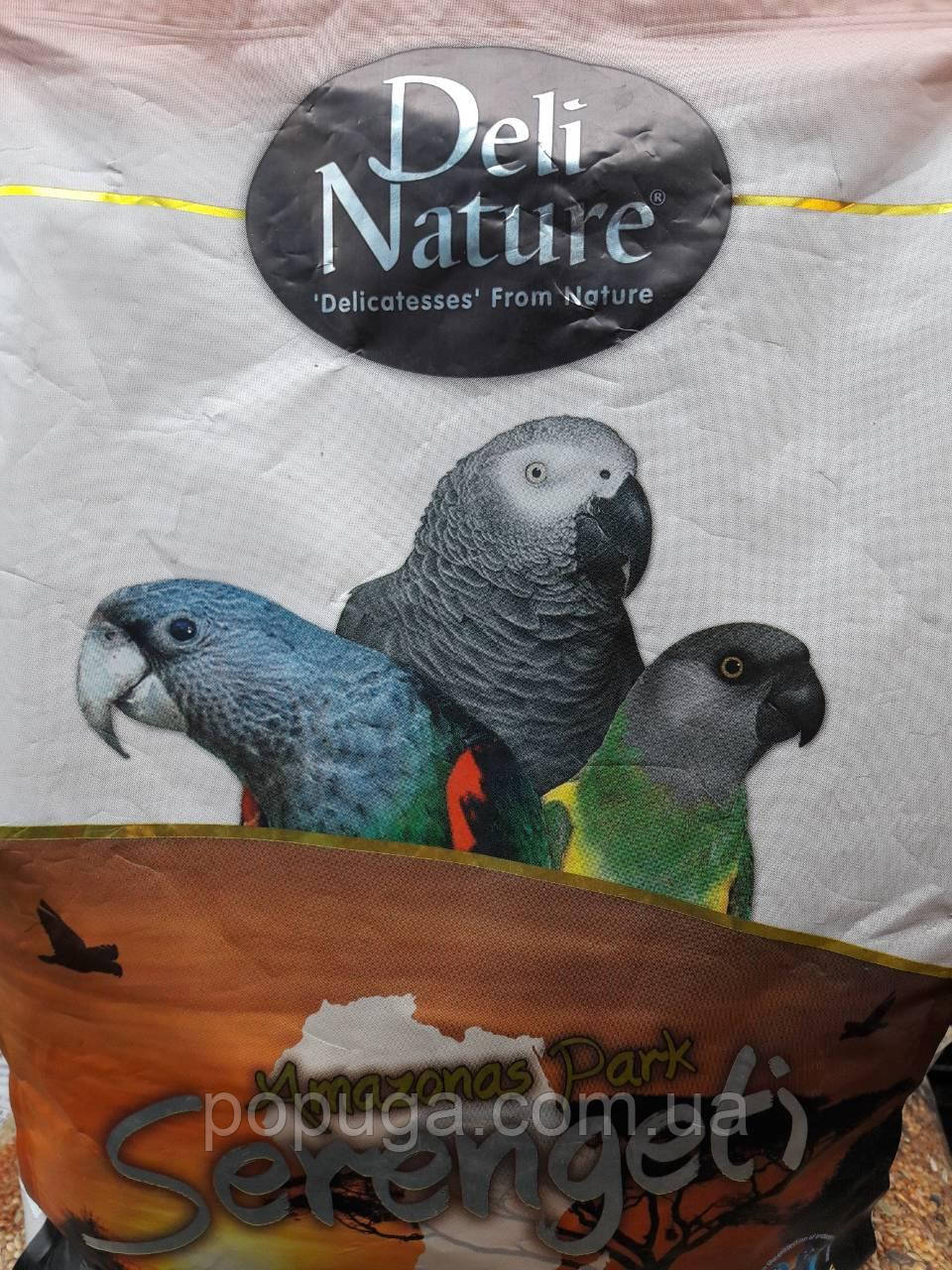 Корм для крупных попугаев Deli Nature Amazonas Park Serengeti, 2 кг